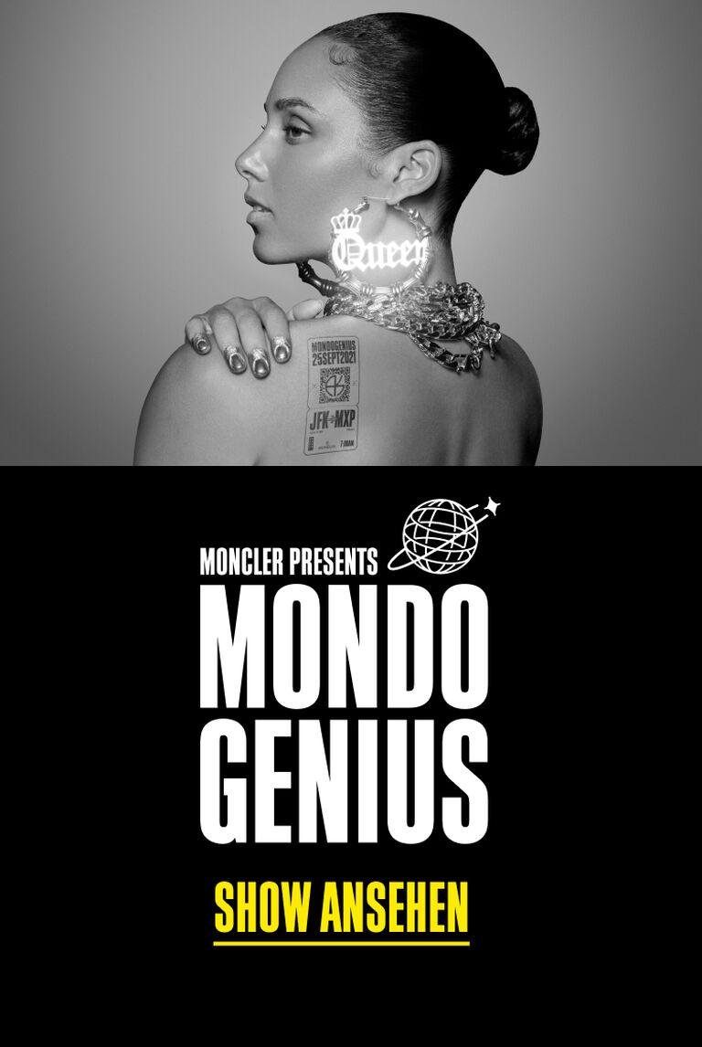 Teaserbild des Mondo Genius Event Launches mit Alicia Keys von Moncler