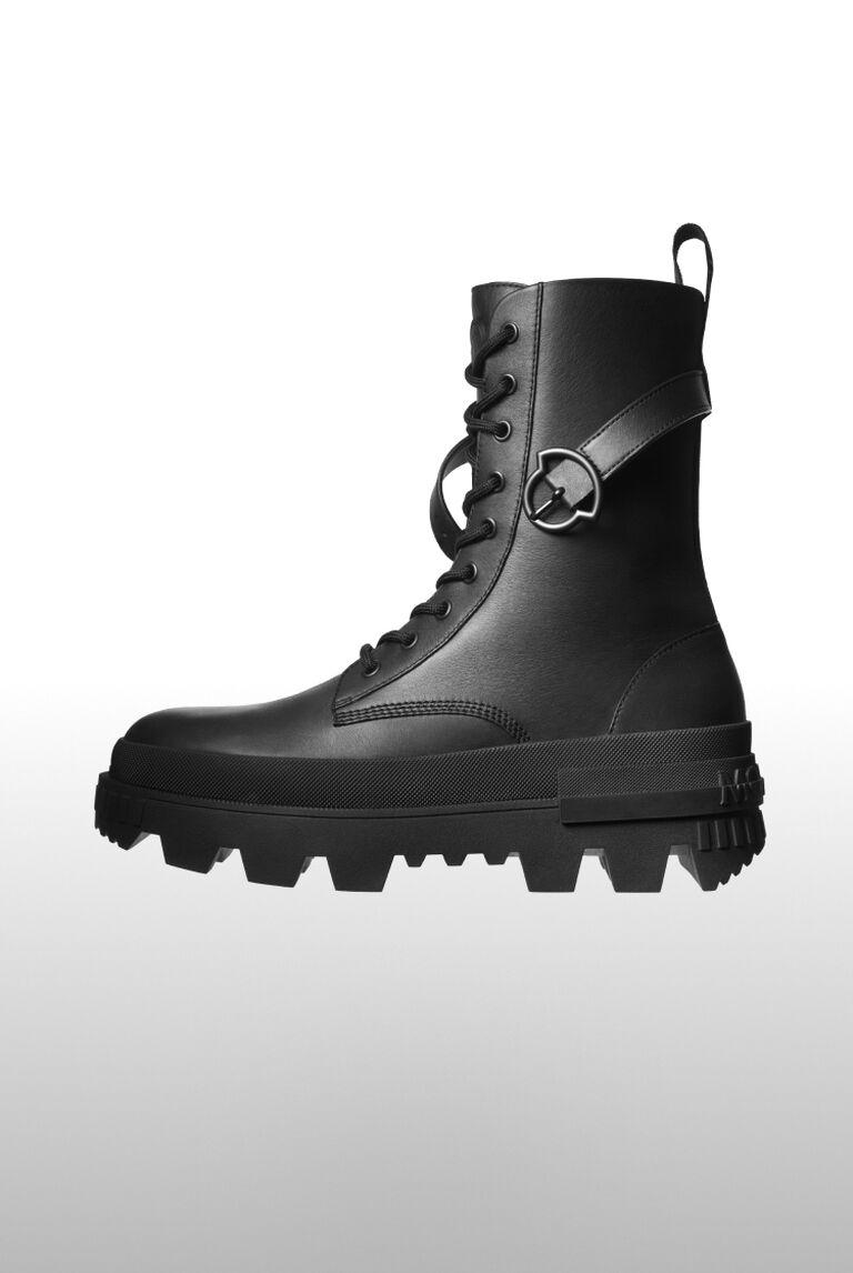 Moncler black boot for women