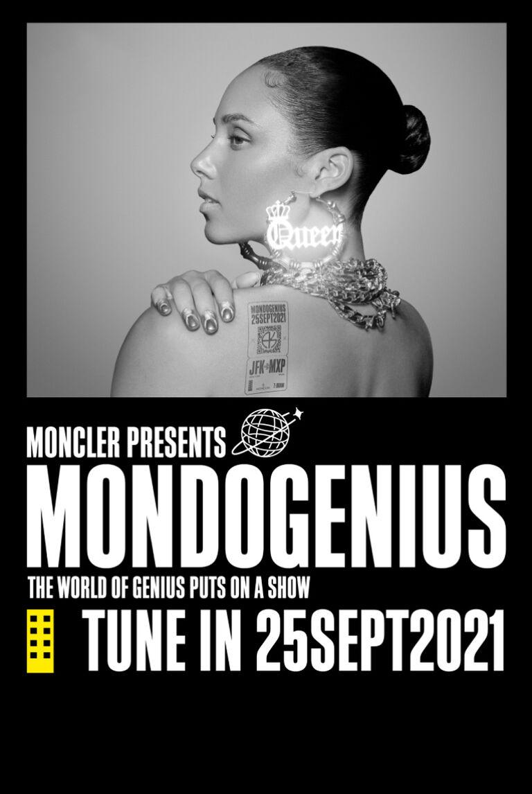 Das Titelbild zeigt Alicia Keys für die Moncler Genius Kollection