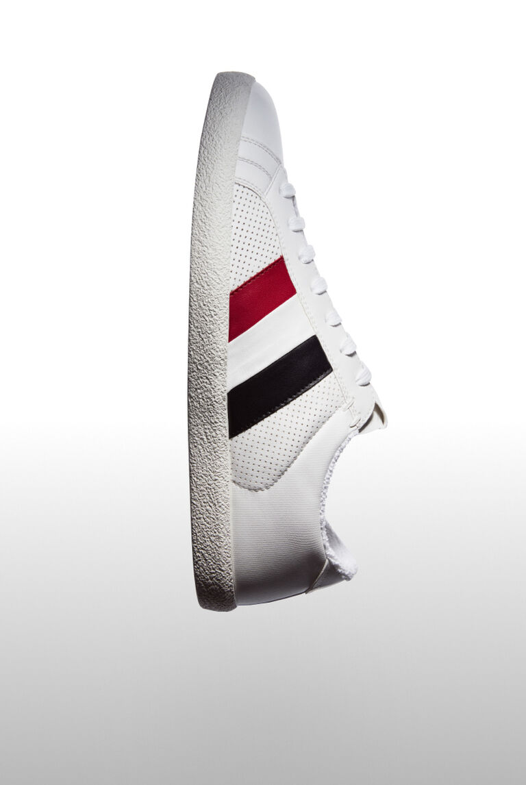 White Moncler sneakers for men