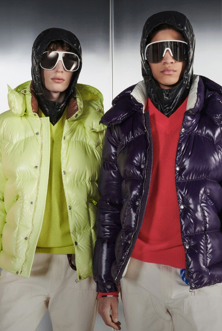The Paninari Love cover image showing a group of men wearing Moncler down jackets