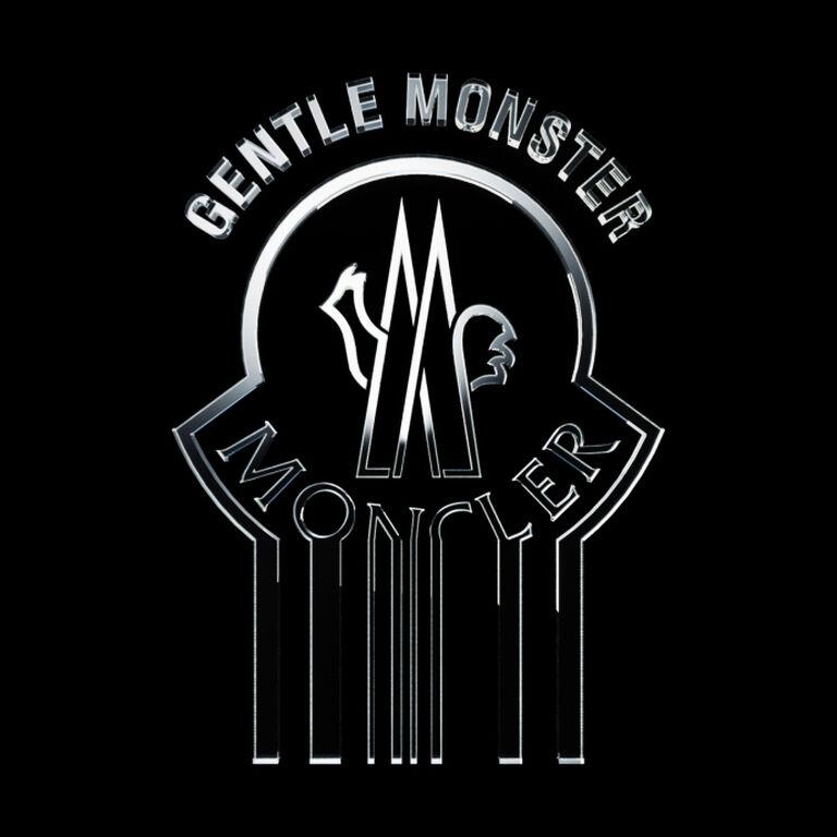 НЕЖНЫЙ МОНСТР - черно-белое изображение логотипа Moncler.