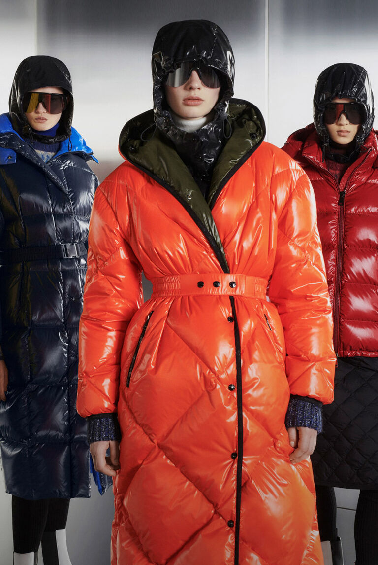 Four women wearing Moncler down jackets on the Paninari Love cover image