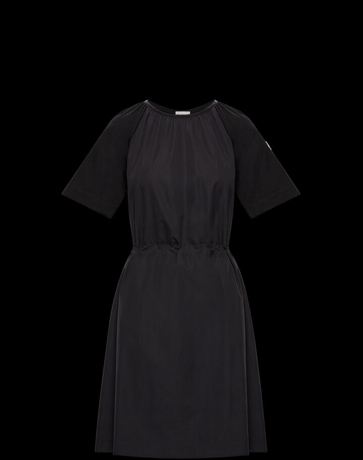 Moncler Jersey dress Black