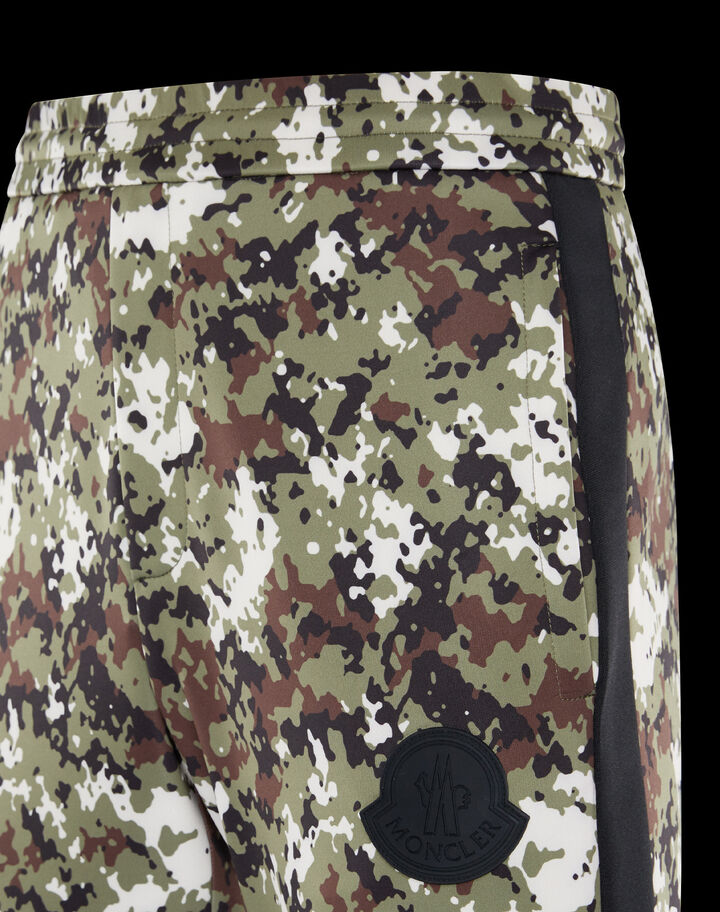Moncler Camo pants Army Green