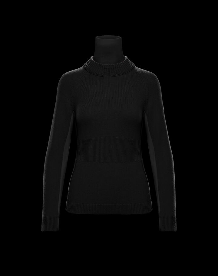 Moncler Turtleneck Black