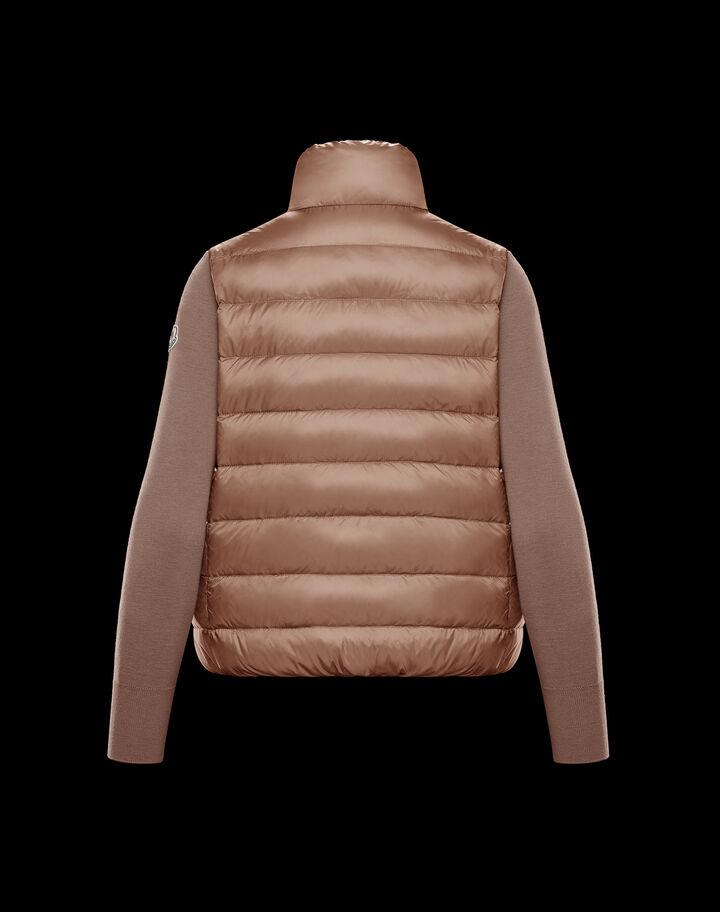 Moncler Down sweater Hazelnut Pink