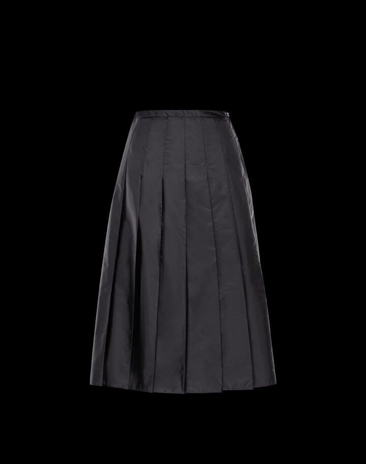 Moncler Nylon skirt Black