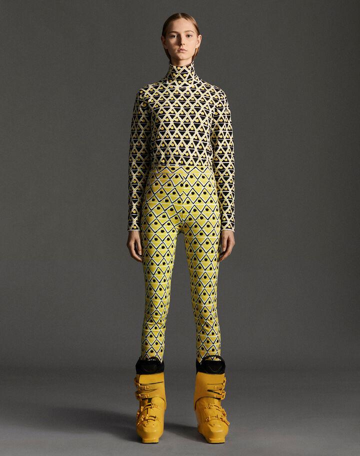 Moncler Leggings Dark Yellow
