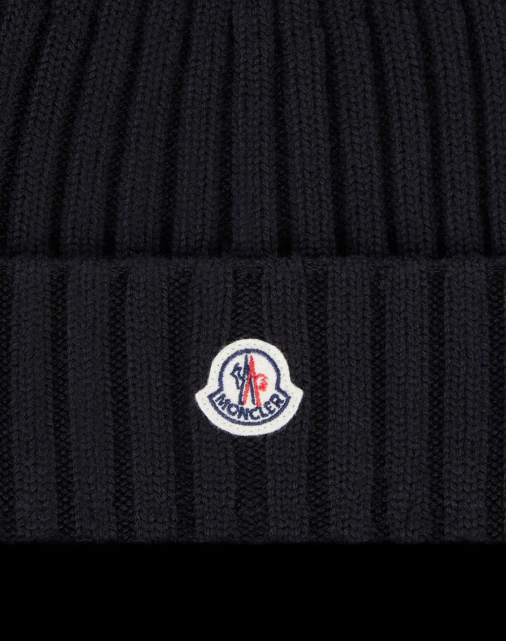 Moncler Wool beanie Black
