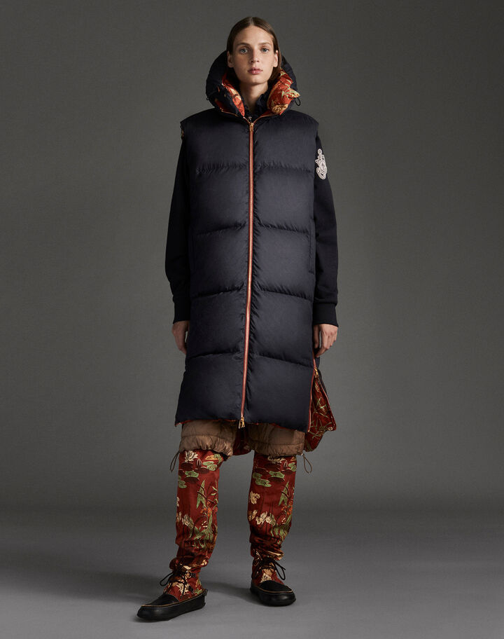 Moncler Battersealong Duck Print Rust Red