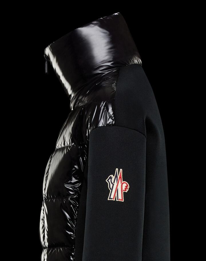 Moncler Padded cardigan Black