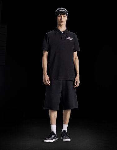 Moncler 폴로 셔츠 블랙