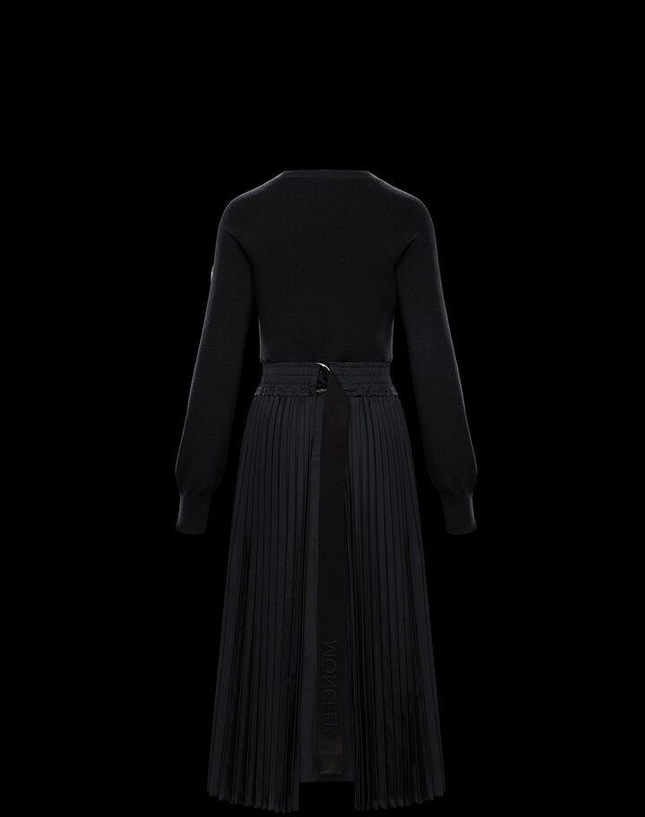 Moncler Wool dress Black