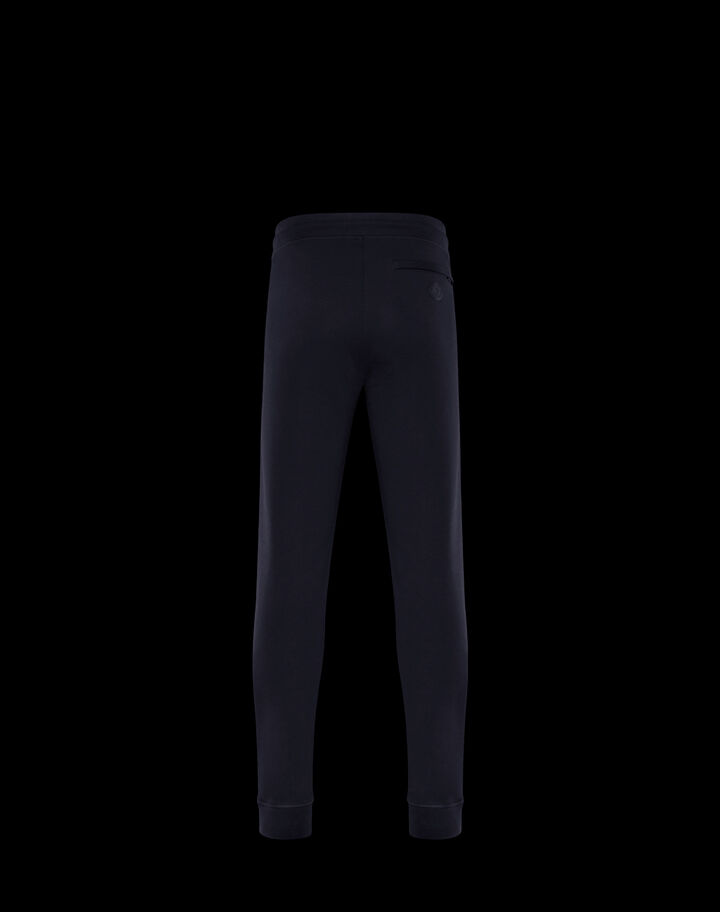 Moncler Tricolor zip pants Night Blue