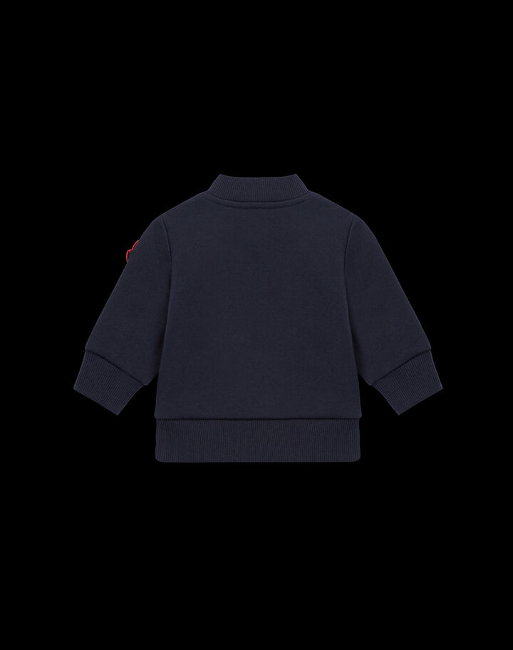 Moncler Tricolor padded cardigan Night Blue