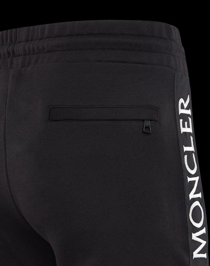 Moncler Pants with ribbon Black