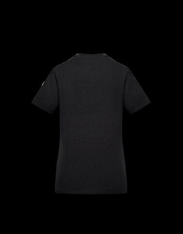 Moncler Moncler 프린트 티셔츠 블랙