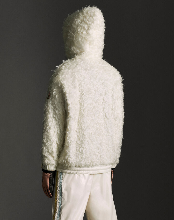 Moncler Hooded cardigan Snow White