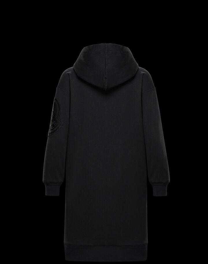 Moncler Hoodie dress Black