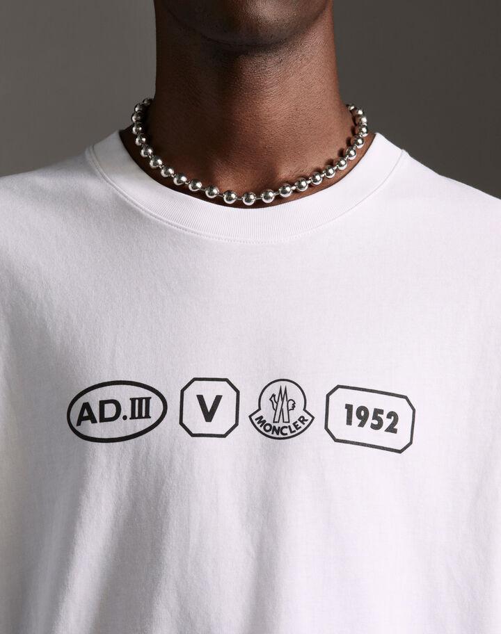 "Moncler ""AD.III"" t-shirt Optical White"