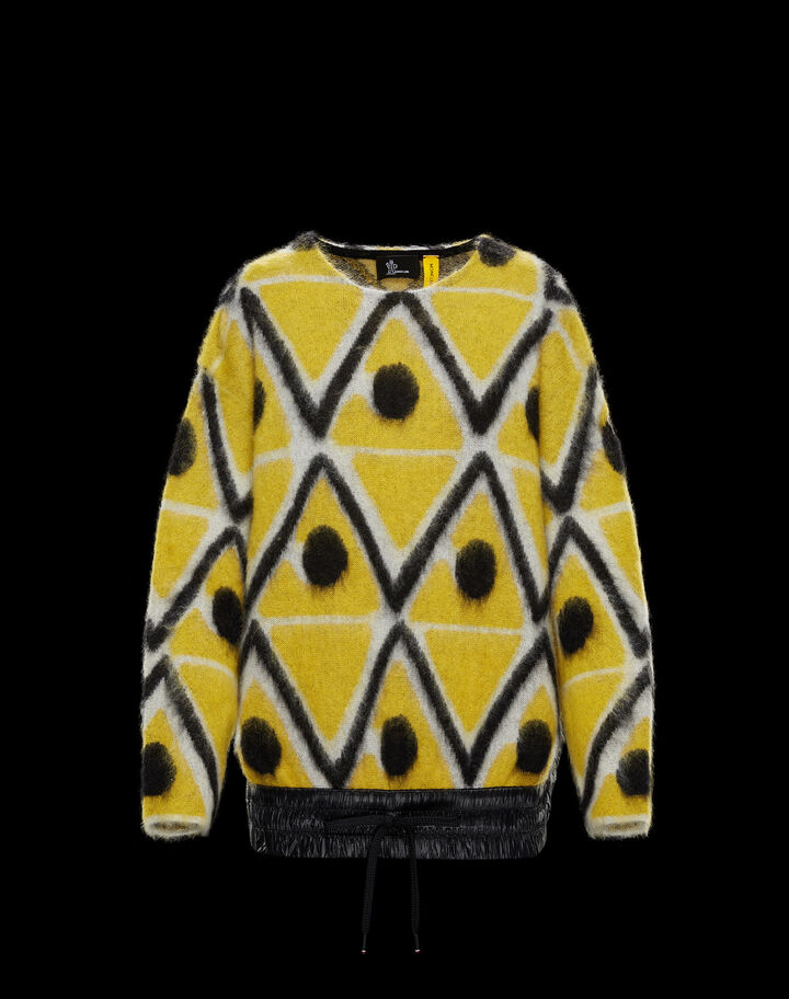 Moncler Crewneck Dark Yellow