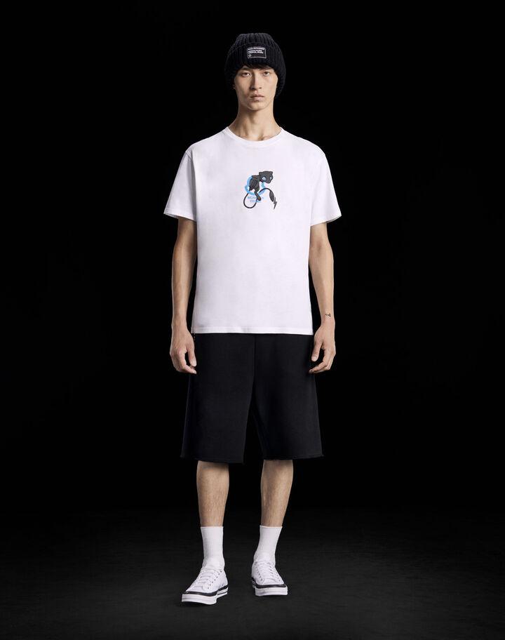 Moncler Printed t-shirt Optical White