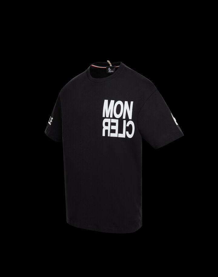 Moncler T-shirt with Moncler detail Black