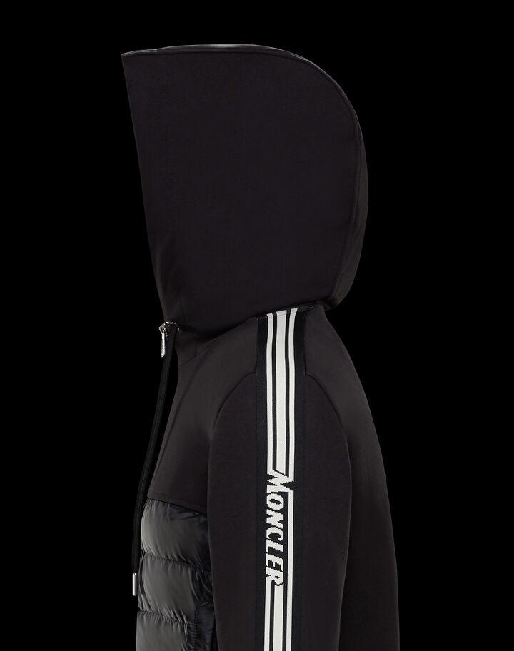 Moncler Down sweater Black