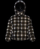 Moncler Daos Black Print On Ivory White