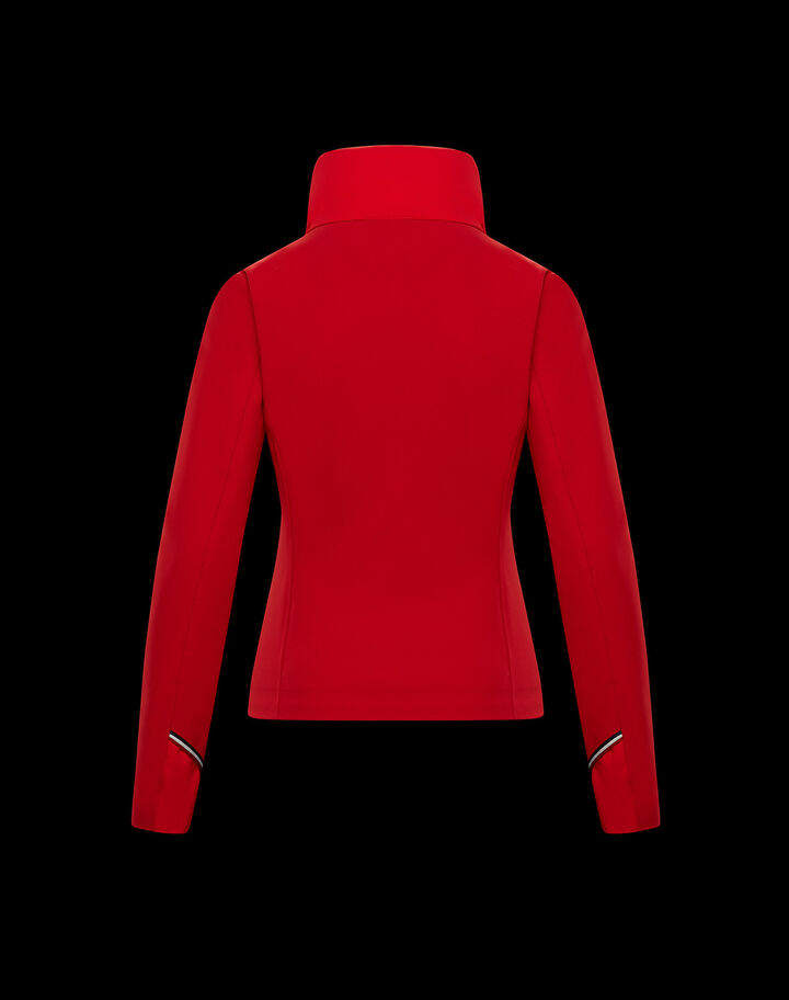 Moncler Padded cardigan Fire Red