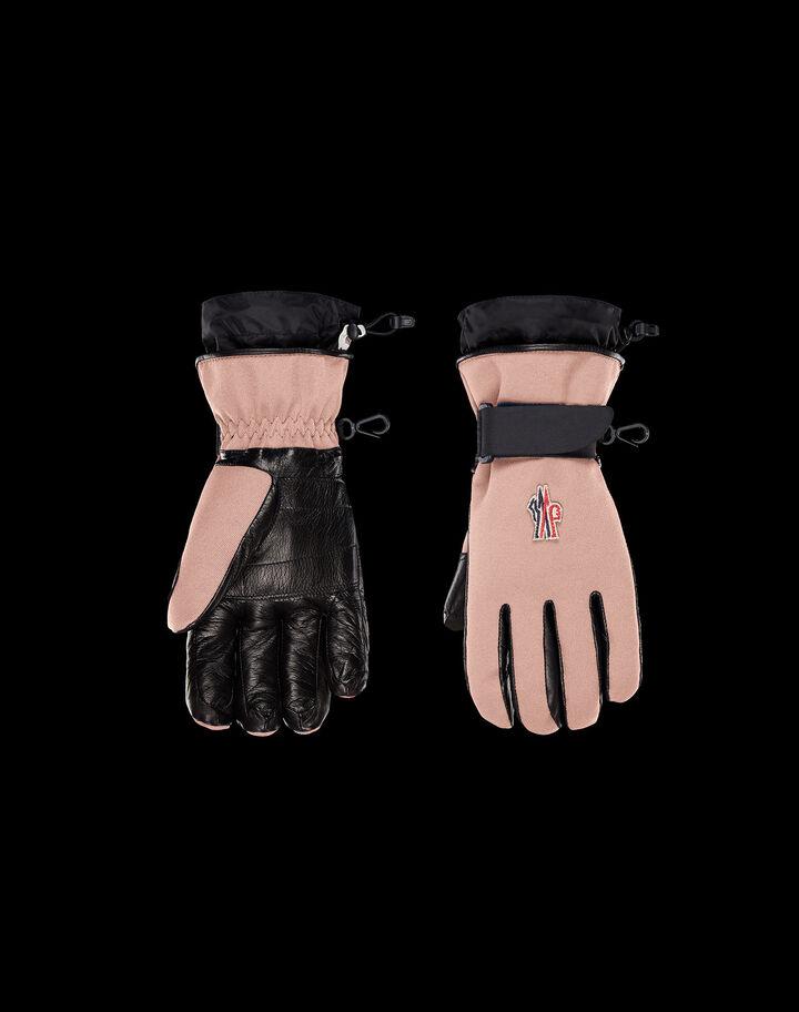 Moncler Ski gloves Blush
