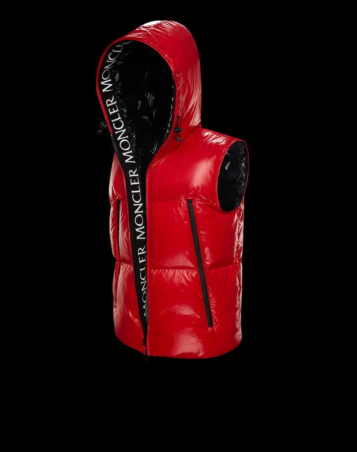 Moncler Agneaux Scarlet Red