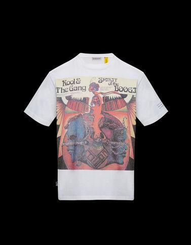 "Moncler ""Kool And The Gang"" 티셔츠 옵티컬 화이트"