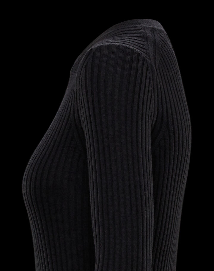Moncler Sweater with lettering Moncler Black