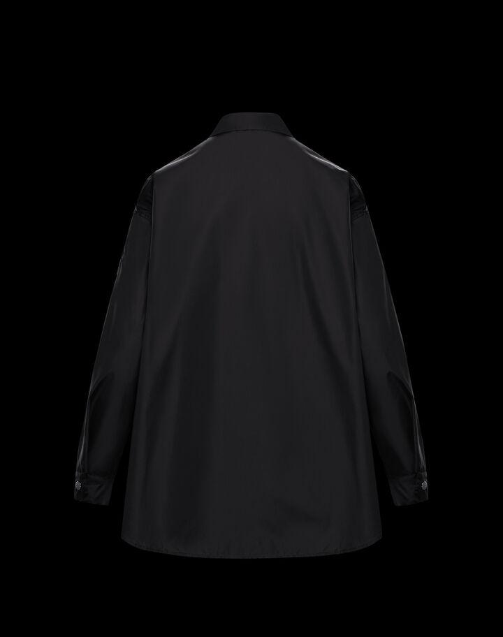Moncler Nylon shirt Black