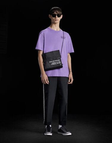 "Moncler ""Fragment Staff"" 티셔츠 라벤더 핑크"