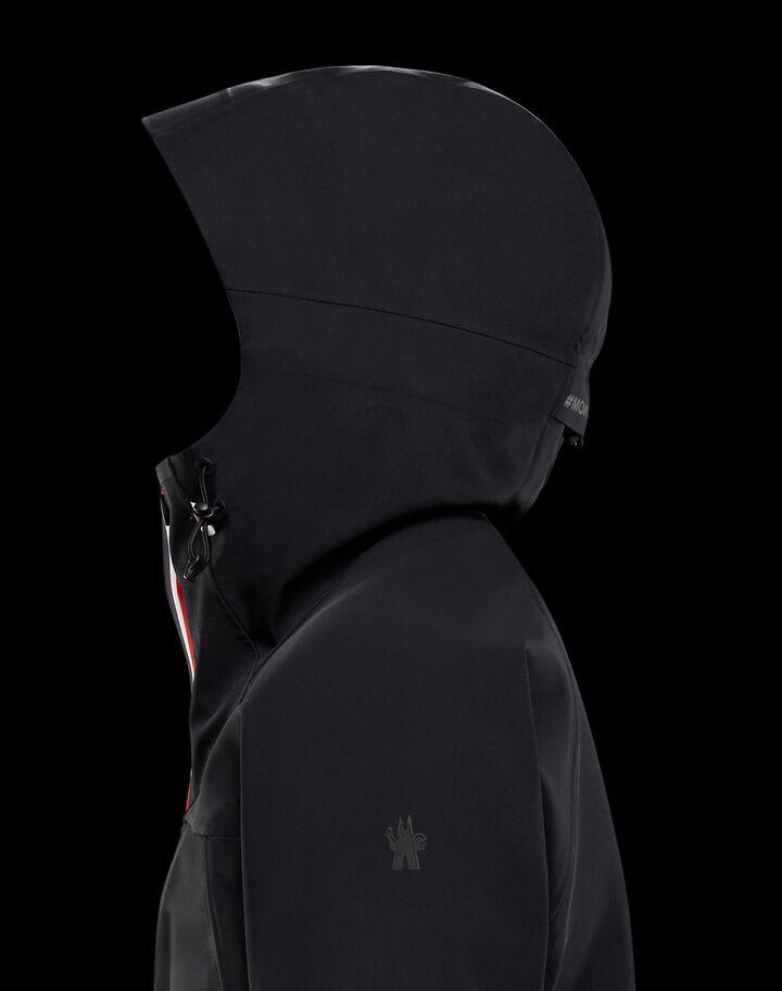 Moncler Hooded cardigan Black