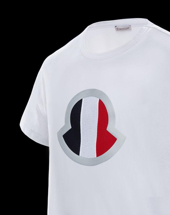 Moncler Jersey t-shirt Optical White