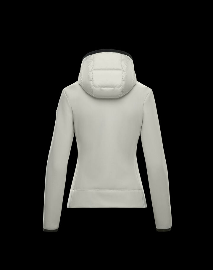 Moncler Technical down sweater Snow White