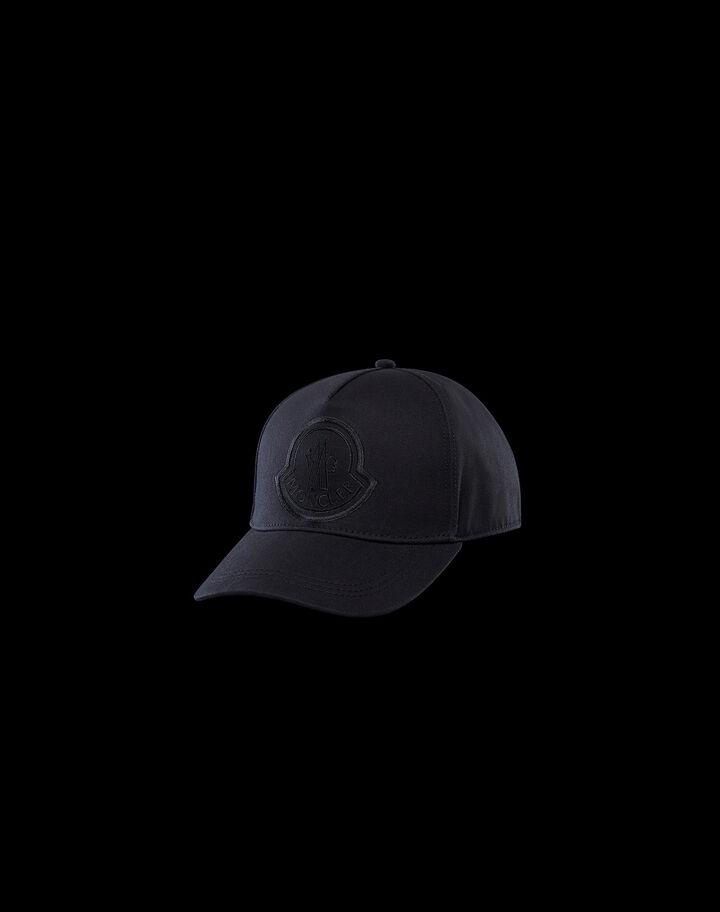 Moncler Cotton hat Black