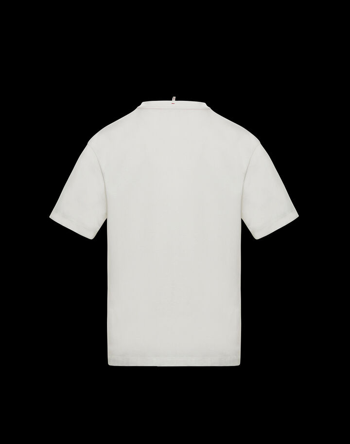 Moncler T-shirt Silk White
