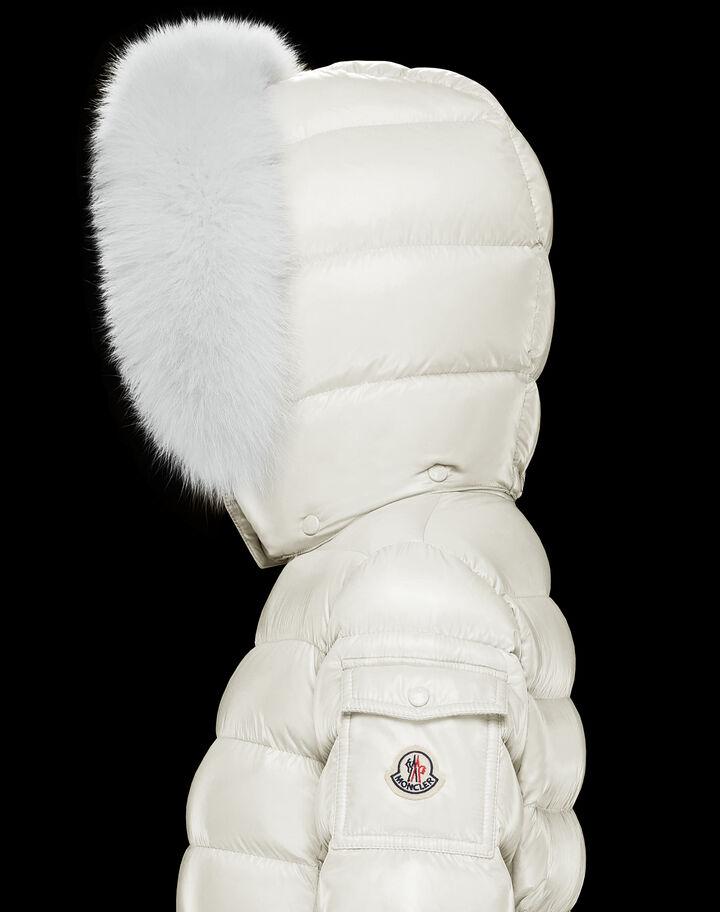 Moncler Badyfur Silk White