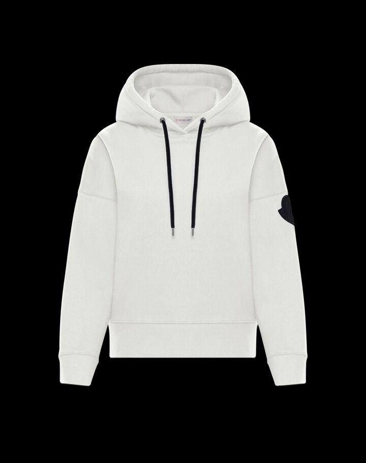 Moncler Retro hoodie Moncler Off White