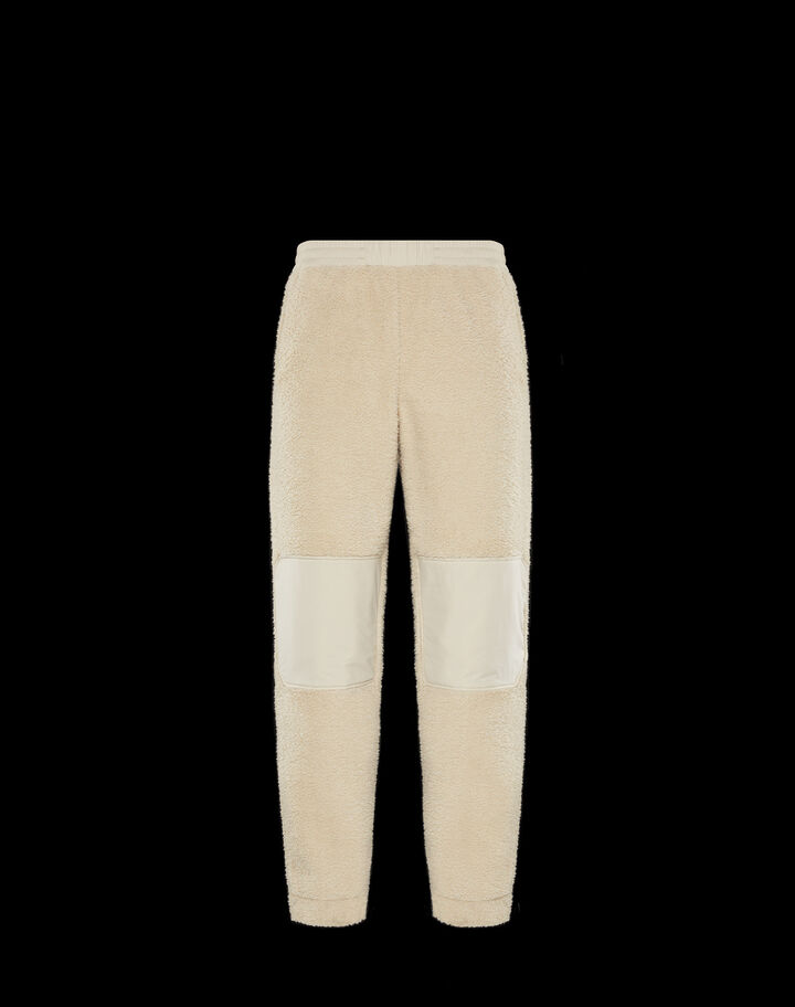 Moncler Sweatpants Ivory White