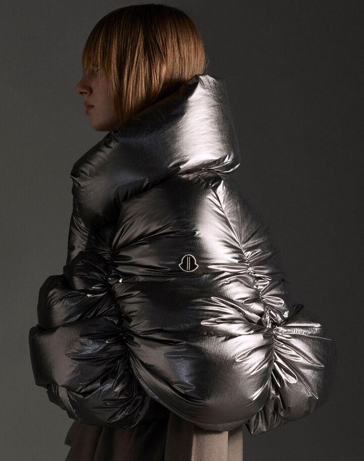 Moncler Ufo Metallic Silver