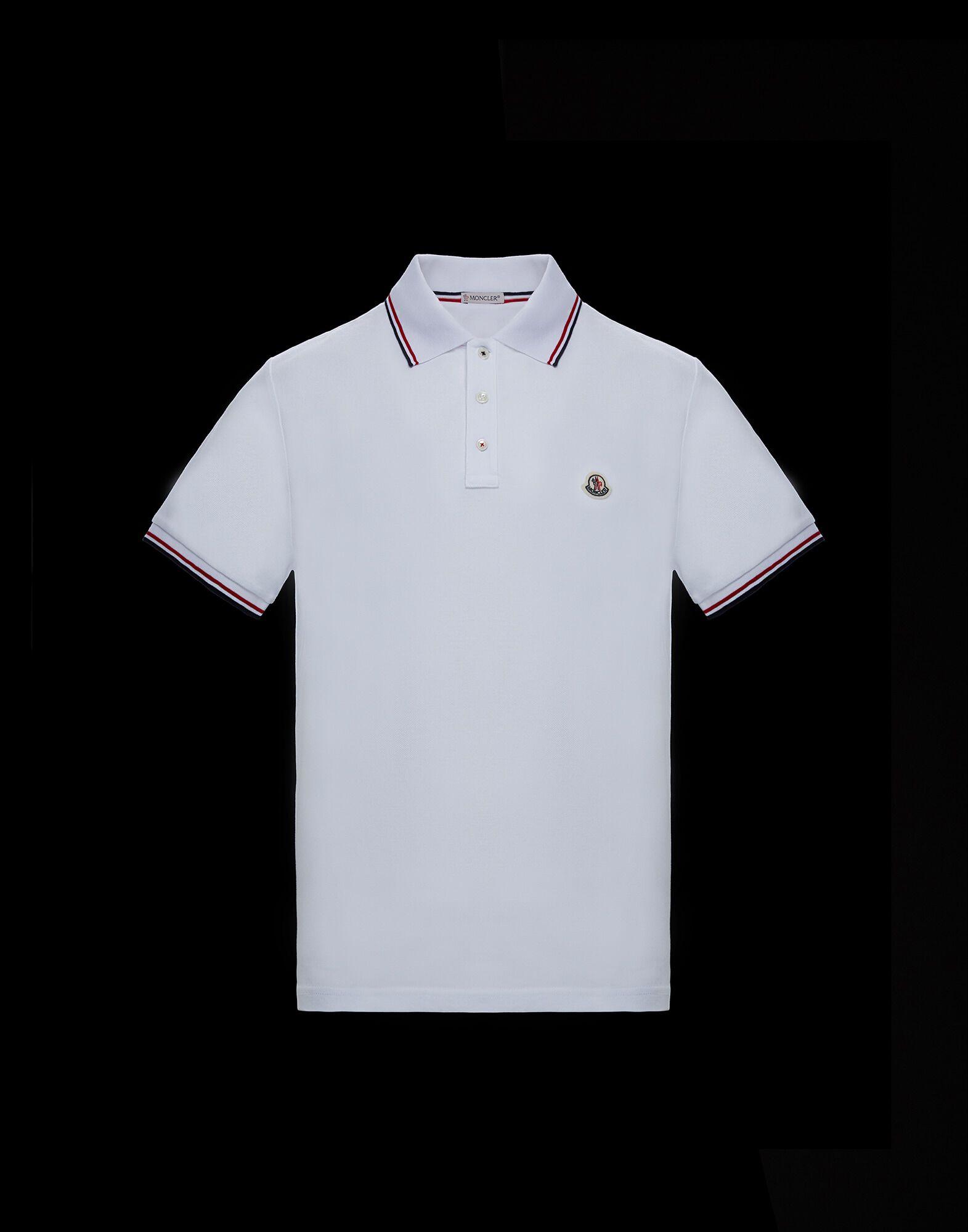 Short Sleeve Polo for men SS 19 Polo 3 color edging | Moncler Korea