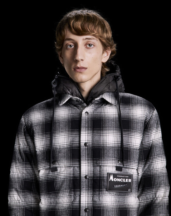 Moncler Danver Black/White Checkered