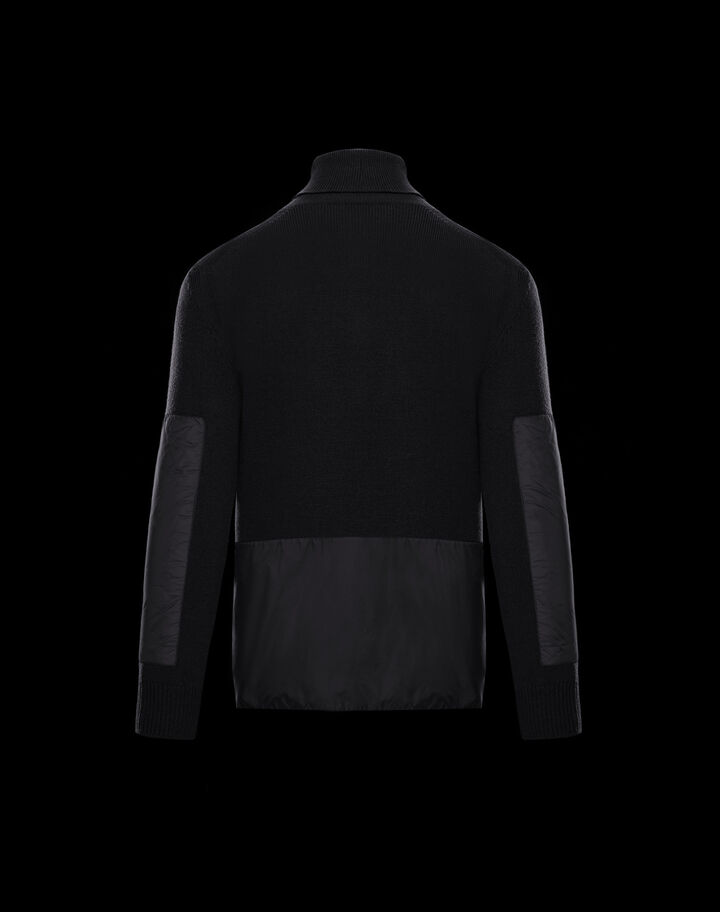 Moncler Turtleneck sweater Black