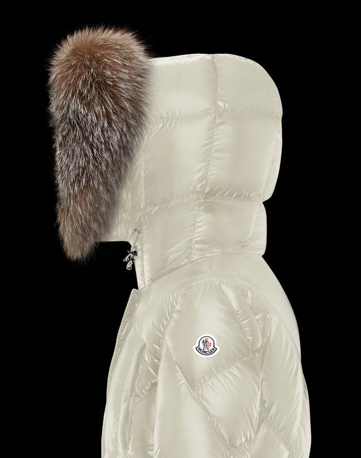 Moncler Dinard Silk White